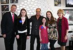 Stewart at Make-A-Wish Wall of Wishes Dedication