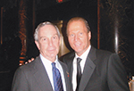 Michael Bloomberg and Stewart